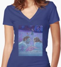 Jazz Women's Fitted V-Neck T-Shirt