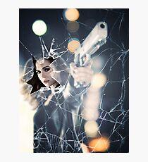 BADASS WOMEN - Eliza Dushku Photographic Print