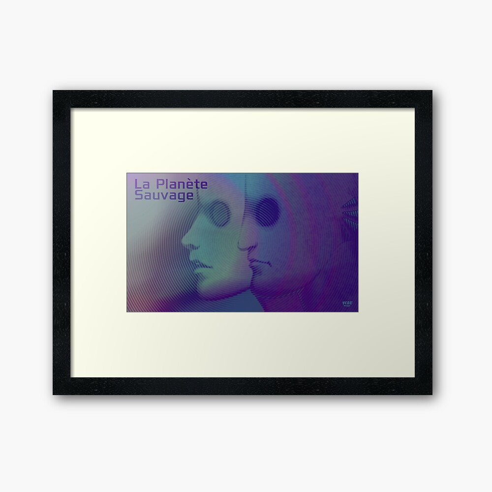 La Planete Sauvage -Fantastic Planet  Framed Art Print