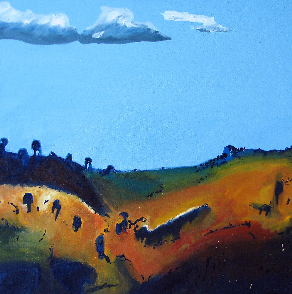 Dry hills - Queensland by ChristineBetts