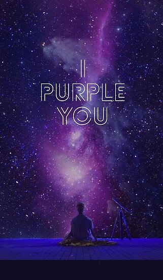 bts i purple you posters by lyshoseok redbubble