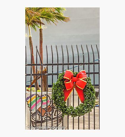 Merry Christmas Caribbean Style!  Photographic Print