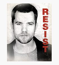 Peter - RESIST Photographic Print