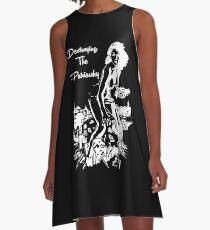 Das Patriarchat zerstören, Black Design A-Linien Kleid