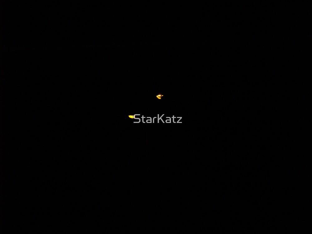 Strange lights over Sydney by StarKatz