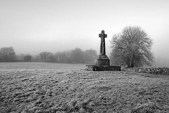 Dysert O'Dea Celtic Cross by John Quinn