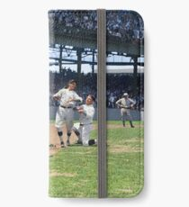 Al Schacht & Nick Altrock at MLB Opening game in Griffith Stadium in Washington D.C., 1924 iPhone Wallet/Case/Skin