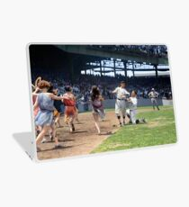 Al Schacht & Nick Altrock at MLB Opening game in Griffith Stadium in Washington D.C., 1924 Laptop Skin
