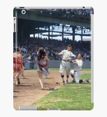 Al Schacht & Nick Altrock at MLB Opening game in Griffith Stadium in Washington D.C., 1924 iPad Case/Skin