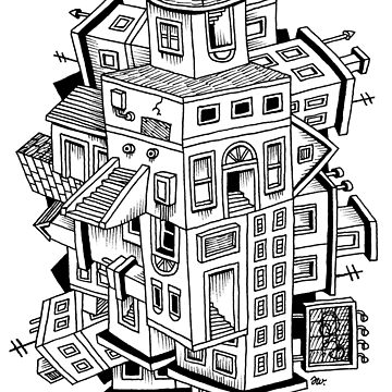 Impossible Buildings by awcomix