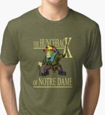 The Hunchback of Notre Dame Tri-blend T-Shirt