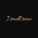 I smell snow by TNTs