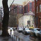 Nakhichevansky - Pushkinskaya corner by Nikolay Semyonov