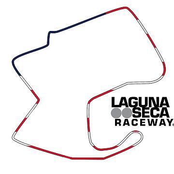 Mazda Raceway Laguna Seca - C&A RaceTracks by ColorandArt-Lab