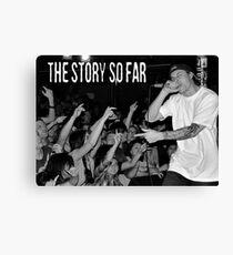 The Story So Far Live Canvas Print