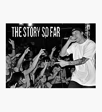 The Story So Far Live Photographic Print
