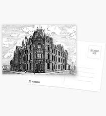 180 - BLYTH POLICE STATION - DAVE EDWARDS - INK - 1991 Postcards