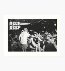 Neck Deep Live Art Print