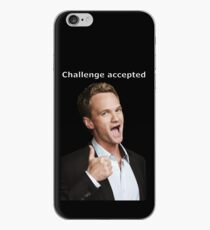 Barney Stinson challenge accepted  iPhone Case