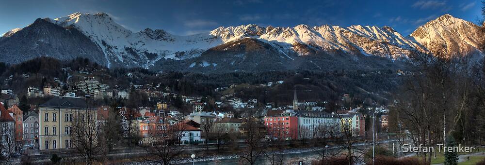 Nordkette - guarding mountains by Stefan Trenker