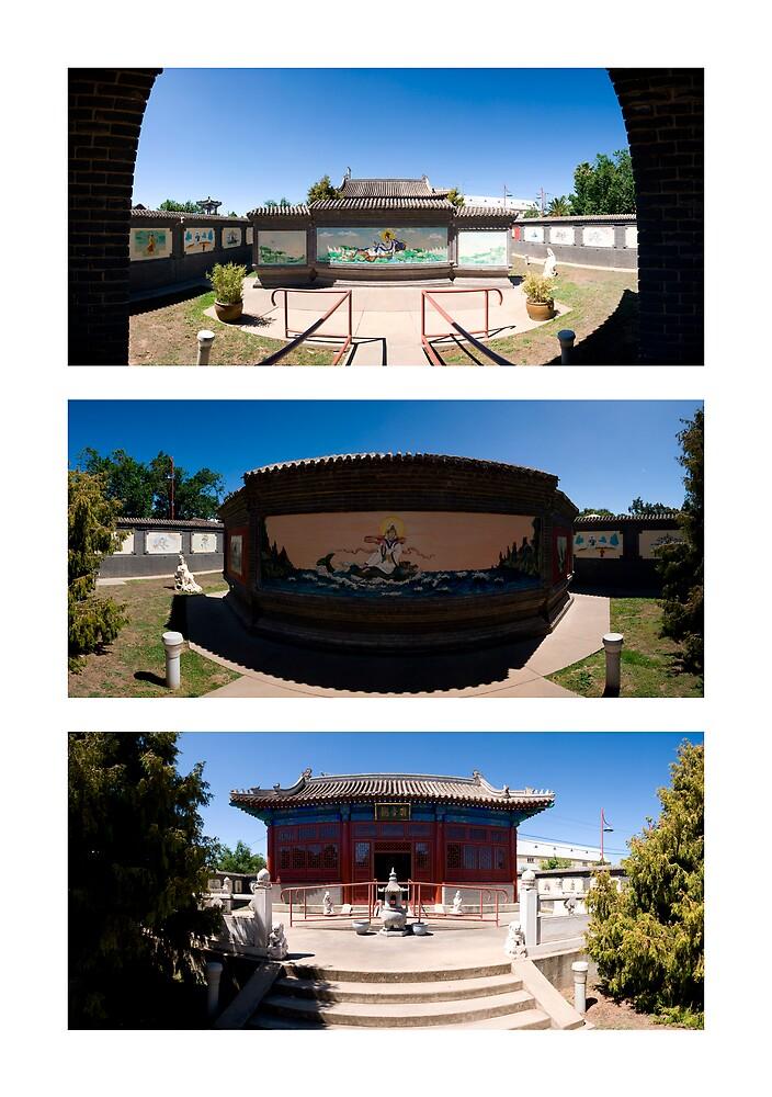 Kuan Yin Temple by Marcus Mawby