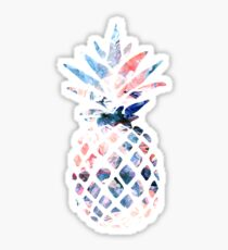 Ananas-Aquarell-Strudel Sticker
