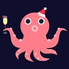 festive octopus_christmas by hahaha-creative