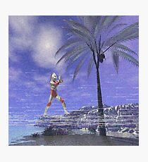 Ultraman VHS Photographic Print