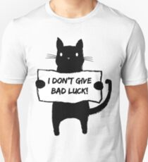 Adorable and Cute Black Cat Unisex T-Shirt