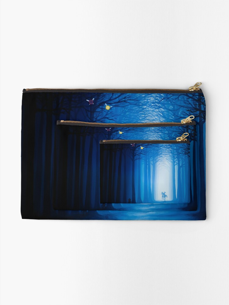 Alternate view of Horrible Fate Zipper Pouch