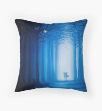Horrible Fate Throw Pillow