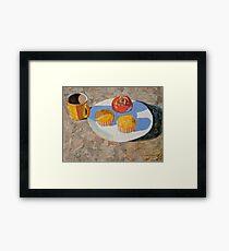"""""""Breakfast"""" Framed Print"""