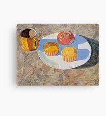 """""""Breakfast"""" Metal Print"""