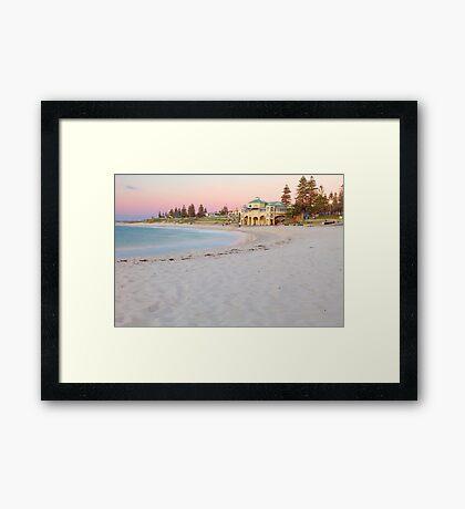 Cottesloe Beach Sunset  Framed Print