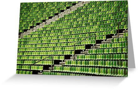 the green chair by andreasphoto