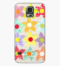 DECORATIVE FLOWERS Case/Skin for Samsung Galaxy