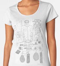 beegarden.works 010 Premium Scoop T-Shirt