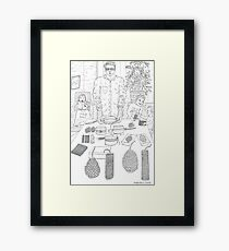 beegarden.works 010 Framed Print