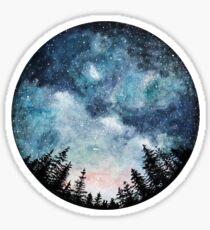 lake tahoe galaxy Sticker