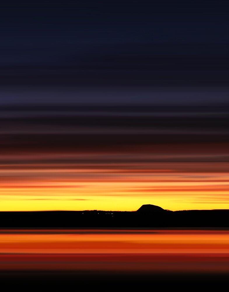 Belhaven Bay Glow by bluefinart