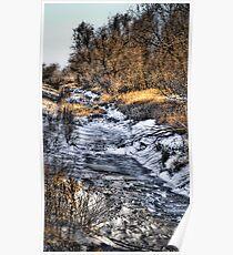 """""""Frozen Creek"""" Poster"""