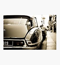 Citroën DS Photographic Print