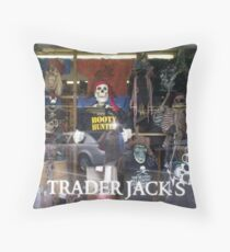 TRADER JACK'S - OAK BLUFFS Throw Pillow