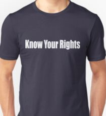 The Clash Know your rights Unisex T-Shirt
