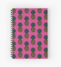 Pink U - Pineapple Spiral Notebook