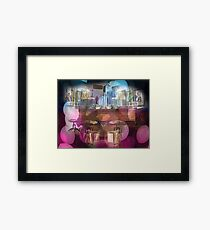 Coffee & Water Framed Print