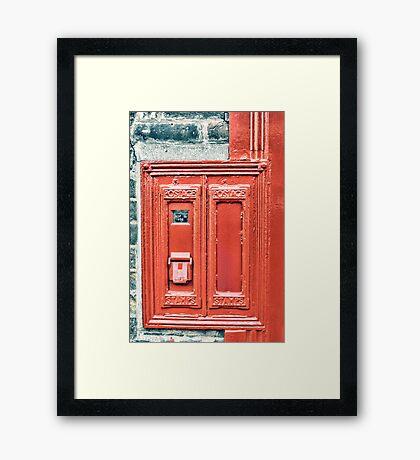 The Stamp Machine Framed Print