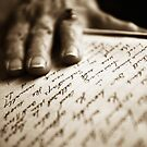 My hand unto your scribings, we are reunited by MargaretC