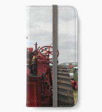 Red Steam Engine iPhone Wallet/Case/Skin
