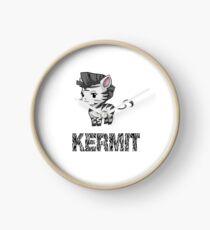 Zebra Kermit Clock